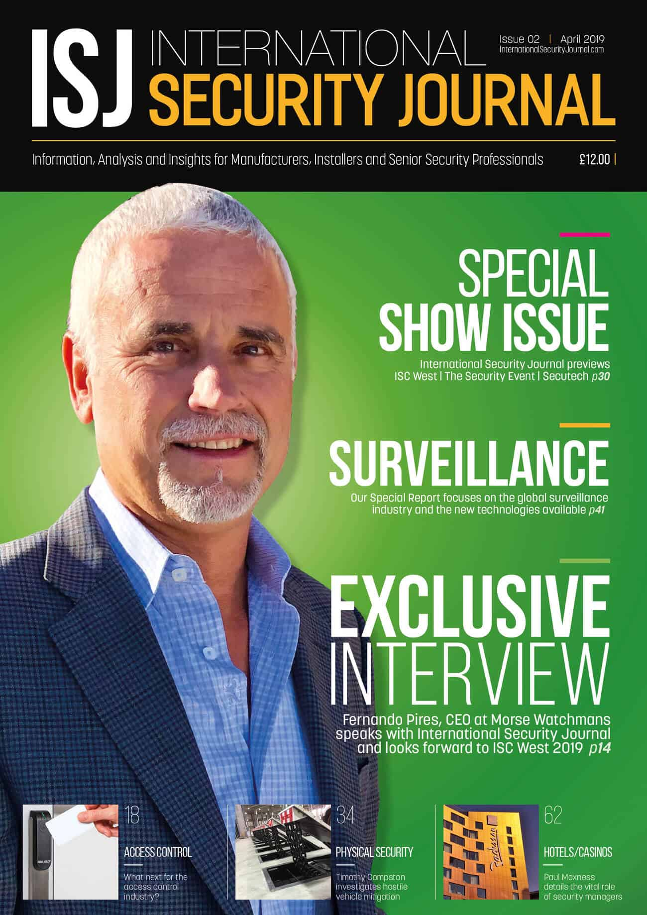 ISJ - March 2019 - Front Cover