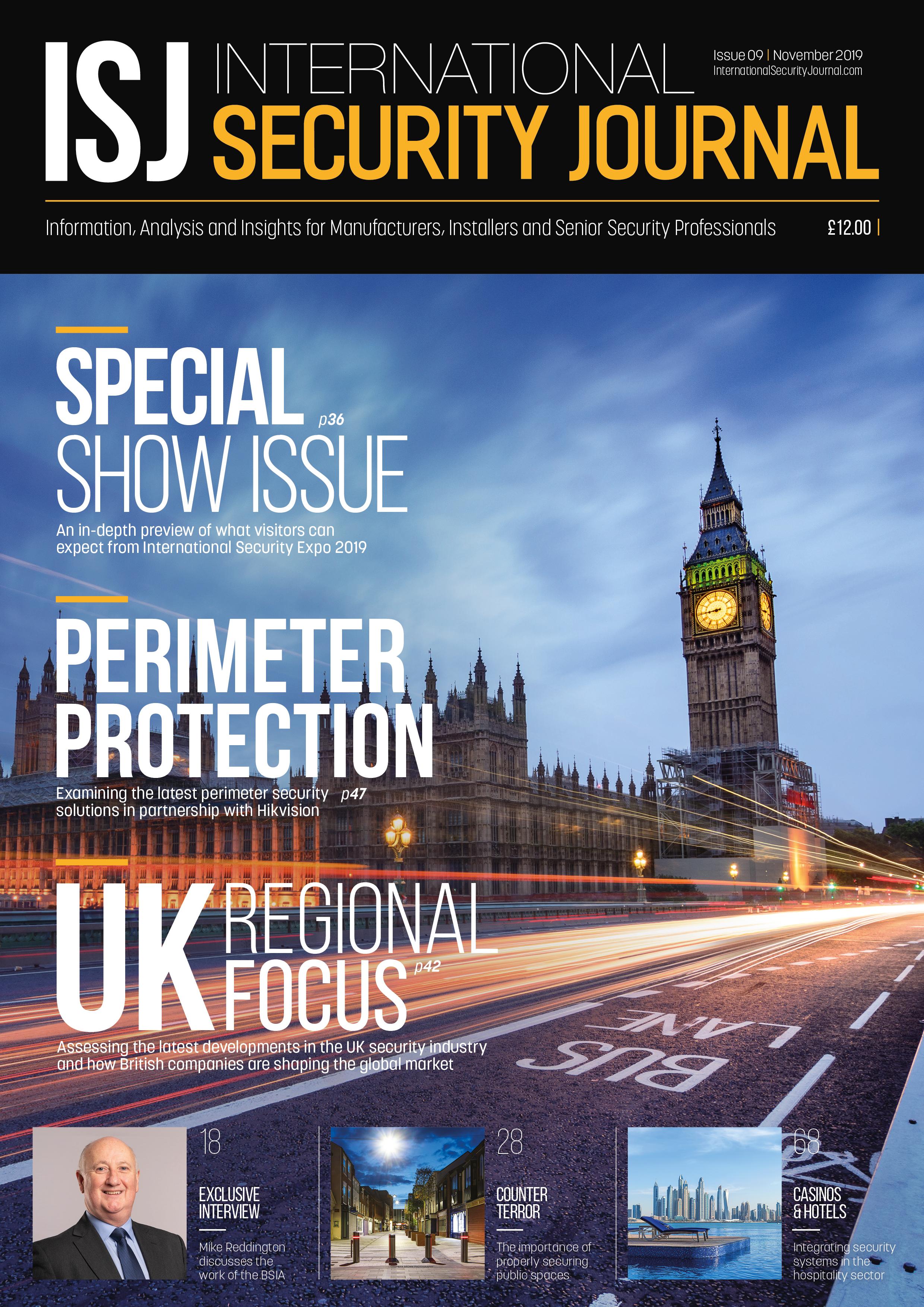ISJ - November 2019 - Cover