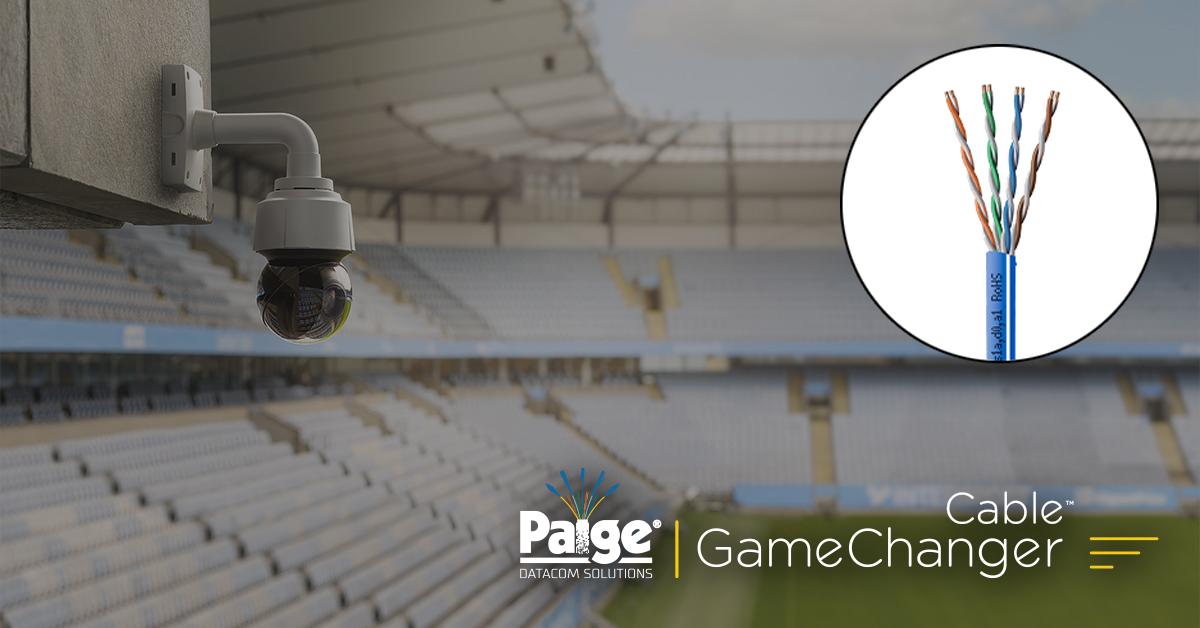 O cabo Paige GameChanger oferece 1G Ethernet e PoE + a 200 metros! 5