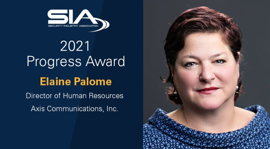 Security Industry Association to present Elaine Palome with 2021 SIA Progress Award