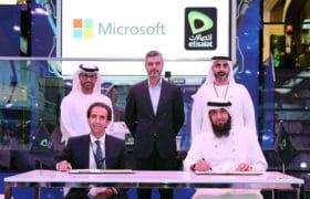 Etisalat partners with Microsoft to secure UAE's digital borders