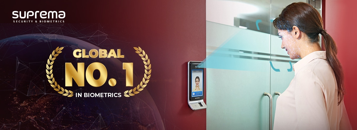 Suprema achieves No. 1 market share in the global biometric market excluding China
